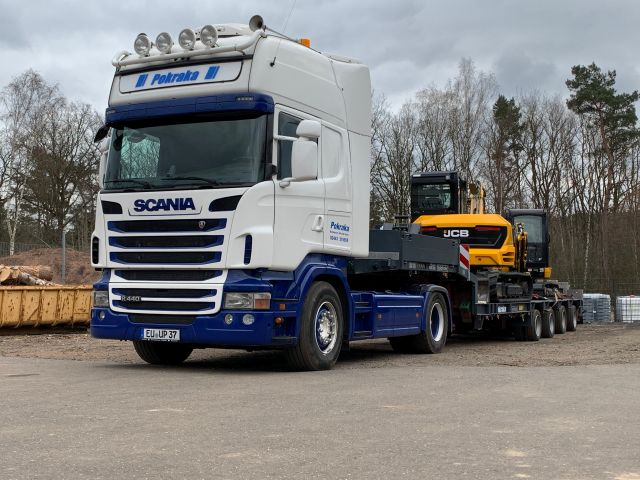 SCANIA R440 & GOLDHOFER STZ-L4-32/80